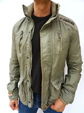 Mens SUPERDRY 'CHECKPOINT LITE' Green UTILITY Jacket SIZE Medium (1428)