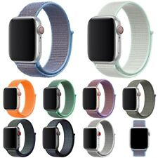 38/42/40/44mm Nylon Sports Loop iWatch Band Wrist Strap for Apple Watch 3 4 5 6