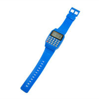 Multi-Purpose Children Calculator Keypad Wrist Watch Date Electronic Silicone