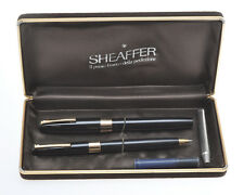 Sheaffer set Triumph stilo+sfera 1960/70, FP+BP 14k nib, exc++