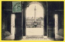 cpa NANTES en 1924 (Loire Atlantique) Rue CHAUVIN et place LOUIS XVI Arcade
