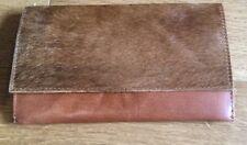 Asos Vintage Style Travel Flap Wallet in TAN H14xW22xD5cm