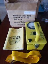 Cd V 720 Radiation Detection Survey Meter Geiger Counter Cdv 720 Model 3a