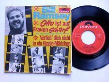 BILL RAMSEY 45 Otto ist auf Frauen Scharf POLYDOR Germany PIC SLEEVE c2916