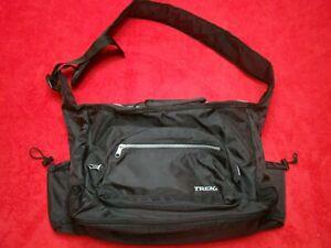 TREK Durable Waterproof Black Shoulder Utility Diaper Carry On Bag