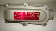 "Crouse-Hinds LBH30 1"" Conduit Outlet, New"