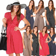 All Seasons Mini Wrap Dresses