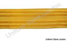Braid Naval Gold Metal wire 45mm 1 3/4 Naval Braid Uniform/ Clothing  R538