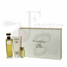 Set - Elizabeth Arden 5Th Avenue W 125ml 3Pc Gift Set (Soft Boxed)