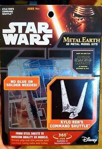 Metal Earth 3D Model Kits Star Wars Kylo Ren's Command Shuttle