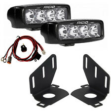 RIGID SRQ-Series PRO LED Fog Light Kit for 14 15 Chevy Silverado 1500 46517
