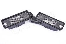 GENUINE PORSCHE Cayenne 958 2011- License Plate Lights PAIR