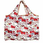 Cute Red Hello Kitty Head Foldable Shopping Bag Eco-friendly Large Capacity