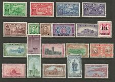 NEW ZEALAND FROM 1936 SMALL UNMOUNTED MINT COLLECTION