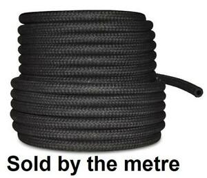 """5mm 3/16"""" Car Fuel Rubber Braided Hose Pipe Petrol Diesel Unleaded Injection"""
