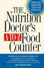 The Nutrition Doctor's A-to-Z Food Counter Blonz, Ed Mass Market Paperback