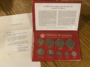 1978 Brilliant Uncirculated Specimen Set Coinage Of Jamaica