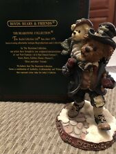 Boyds Bears- Bearstone Collection- Bob C. & Tiny T. God bless everyone