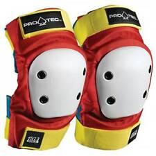 ProTec Street Elbow Pads Set Retro Red Yellow Xl
