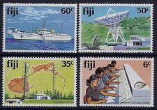 1981 FIJI TELECOMMUNICATIONS SET OF 4 FINE MINT MNH/MUH