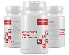 Nutrinax Vitamin B12 1000µg - 365 Tabs vegan B12 Tabletten B12 Lutschtabletten