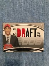 2008 BOWMAN DERRICK ROSE GAME USED JERSEY PATCH DRAFT DAY rookie #/399 RARE