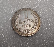 Latvia 1 Lats Silver  Coin 1924 Circulated (1)