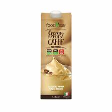 FoodNess Crema Fredda al Caffè Senza Glutine e Senza Lattosio già pronta 1 KG