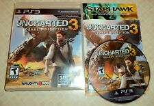 Uncharted 3: Drake's Deception (Sony PlayStation 3, 2011)  COMPLETE & Tested!