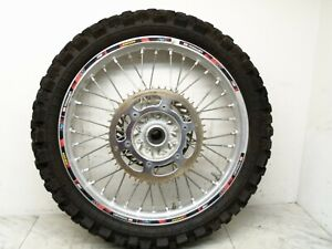 SUZUKI RMZ450 RMZ 450 2006 06 REAR WHEEL TIRES TIRE RIM 110/90-19.