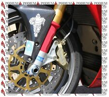 FORK PROTECTORS PAIR RED SMALL