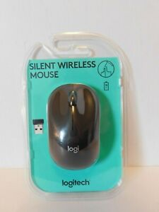 Logitech M330 Silent Plus Wireless Large Mouse (Black) GA