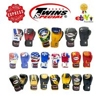 Twins Special  Muay Thai FANCY Boxing Gloves 8 10 12 14 16 oz