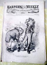 ORIGINAL HARPER'S WEEKLY NEWSPAPER,N. Y.,Saturday,Aug.24,1875,Thomas Nast Double