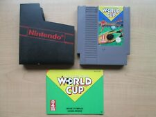 Nintendo NES - World Cup - Manual INCLUDED