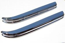 JAGUAR XK120 BUMPERS,  TWO FRONTS,  NEW