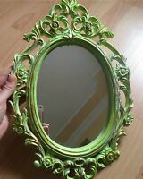 1 Grand Moule en Silicone 40cm Cadre Miroir Fleur Baroque Résine Platre Cire