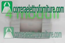 LEGRAND VELA placca quadra 4 moduli grigio seta legni tecnici 685682