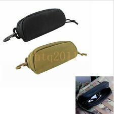 Tactical Molle Glasses Case Sunglasses Pouch Glasses Shockproof Protective Box