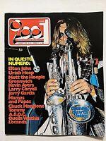 RARE CIAO 2001 27-1974 OSANNA-ELTON JOHN-URIAH HEEP-MOTT THE HOOPLE-KEVIN AYERS