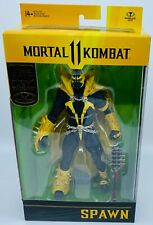 New listing McFarlane Toys Mortal Kombat 11 Spawn Gold Label Walmart Exclusive