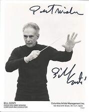 Bill Conti authentic signed autographed 8x10 photograph holo COA