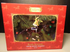 Breyer  Rachel Alexandra Race Horse Ornament - Retired