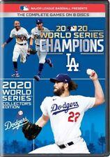 Major League Baseball Presents 2020 World Series Los Angeles Dodgers 8 DVDs