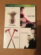 Iconic Movie Collection Cast Away, Walk The Line, Wall Street, The Last Of The M