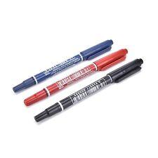 Set 3 Penne Pennarelli Per Scrivere Su CD DVD Colori Rosso Nero Blu dfh