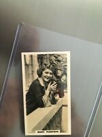 1930s  Mary Pickford  card 2 -  $9 PP