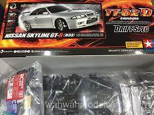 Tamiya 1:10 TT-02D Skyline GT-R R33 Drift Spec EP RC Car Kit ESC On Road #58604