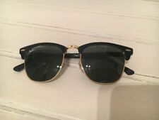 Ray Ban Clubmaster Gafas de sol RB3016 Unisex Negro/Oro