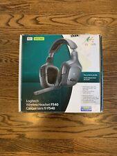 Logitech Wireless Headset F540 Audio PS3 Xbox 360 PC Windows NEW SEALED